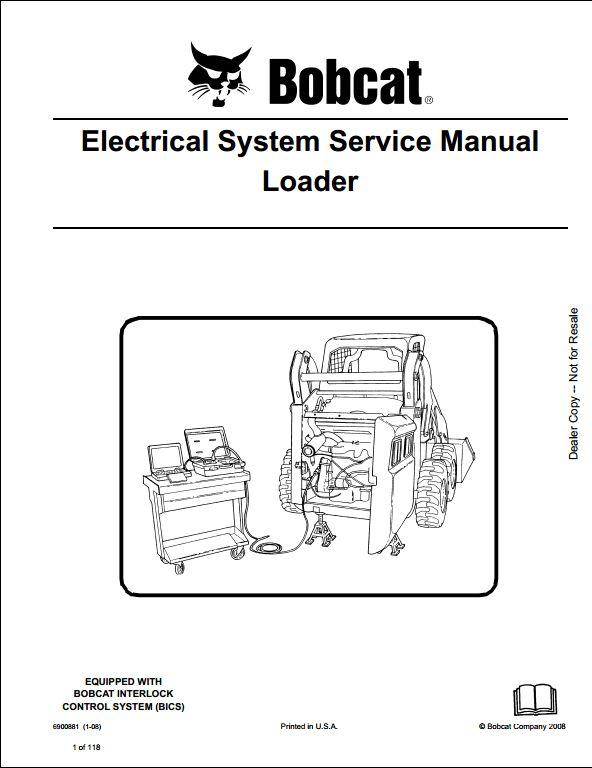 bobcat t190 wiring diagram wiper