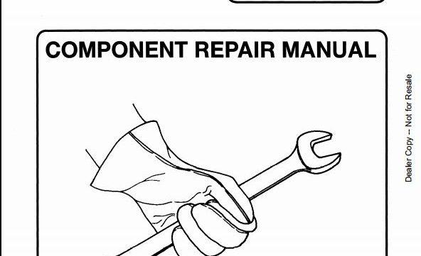 Bobcat Melroe Hydraulic Control Valve Service Repair ...