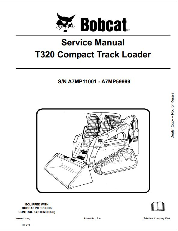 bobcat t320 compact track loader service repair workshop manual motrec wiring diagram bobcat t320 compact track loader service repair workshop manual a7mp11001 a7mp59999