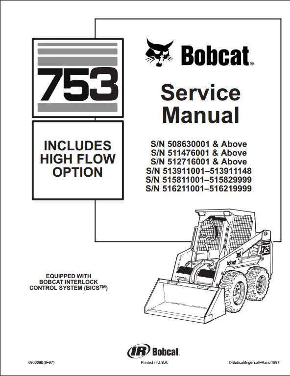 Bobcat_1 bobcat 753 parts diagram model schematic diagram