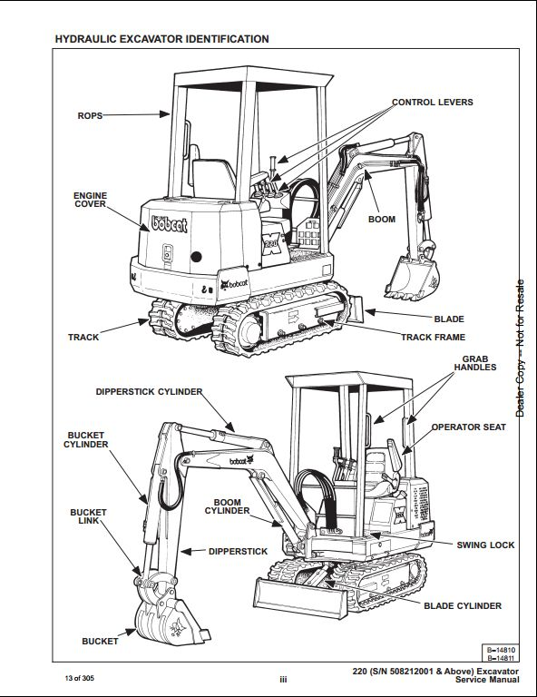 Bobcat_2 16 terex excavator wiring diagram link belt wiring diagrams wiring link belt 3400 excavator wiring diagram at gsmportal.co
