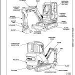 2008 bobcat 325  328 compact excavator service repair