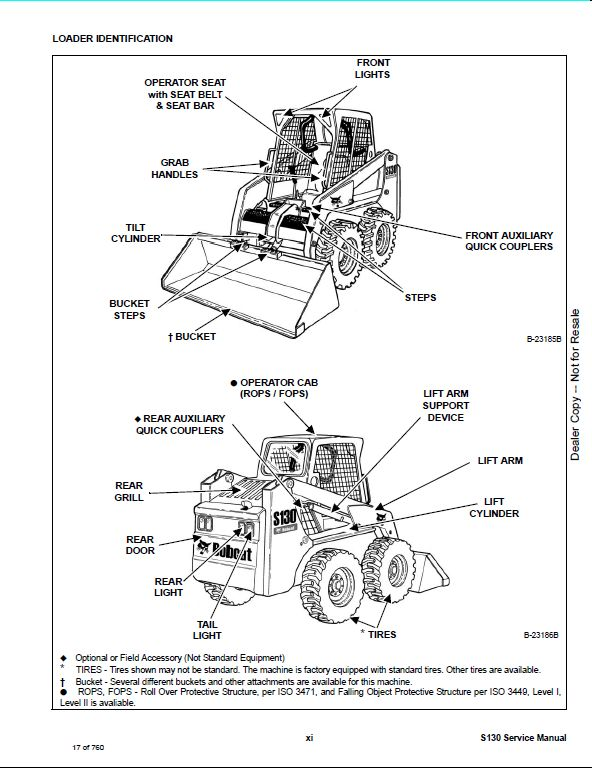 Bobcat_2 71 bobcat s130 skid steer loader service repair workshop manual