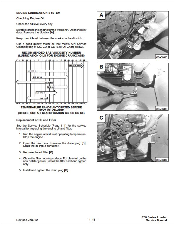 bobcat 753 skid steer loader service repair workshop manual a repair manual store