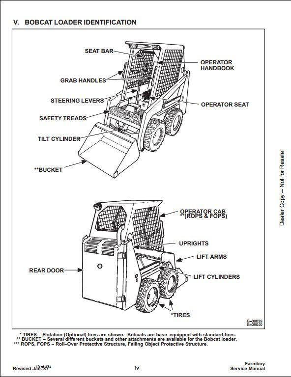 Mustang 440 skid parts Manual MUSTANG SKID STEER LOADER