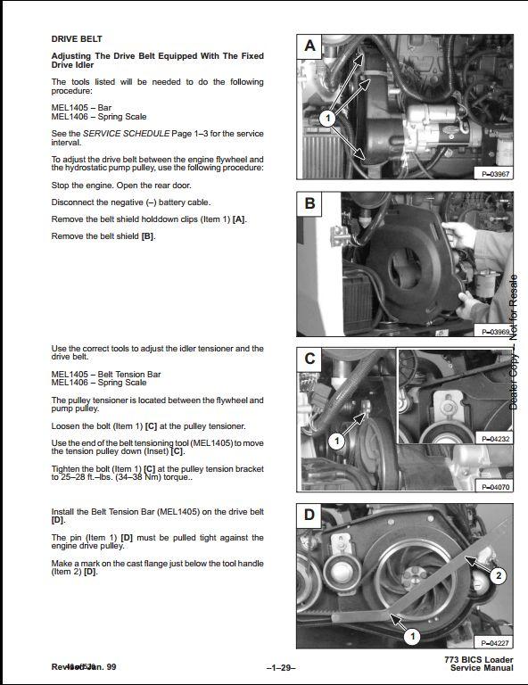 bobcat 773 skid steer loader service repair workshop manual instant bobcat 773 skid steer loader service repair workshop manual 509635001 this manual content all service repair maintenance