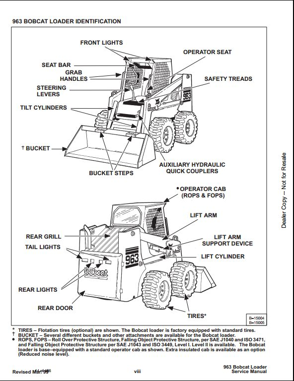 bobcat skid steer service manual