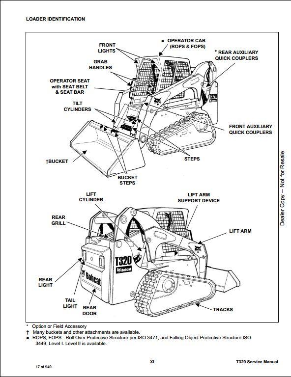 bobcat t320 wiring diagram bobcat t320 parts diagram