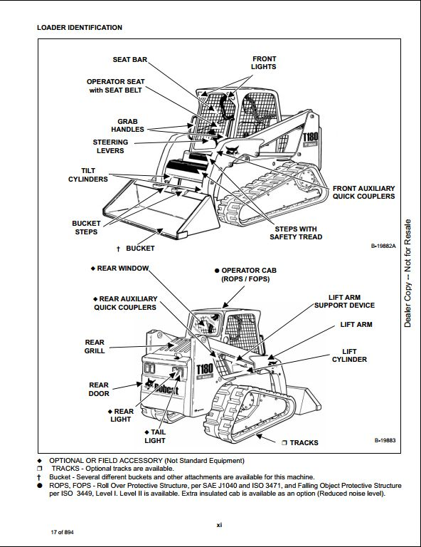 2008 Bobcat T180 Compact Track Loader Service Repair Workshop Manual 531411001