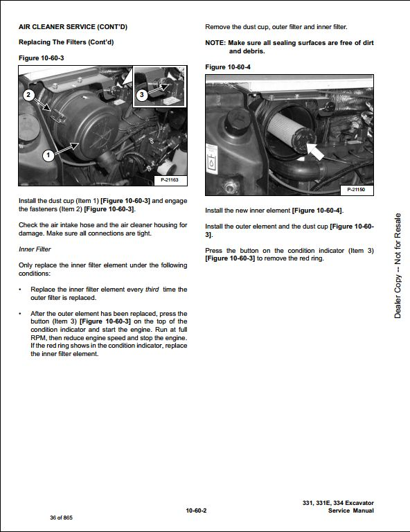 Bobcat 331 331E 334 Mini Excavator Service Repair Workshop Manual  232511001-232611001