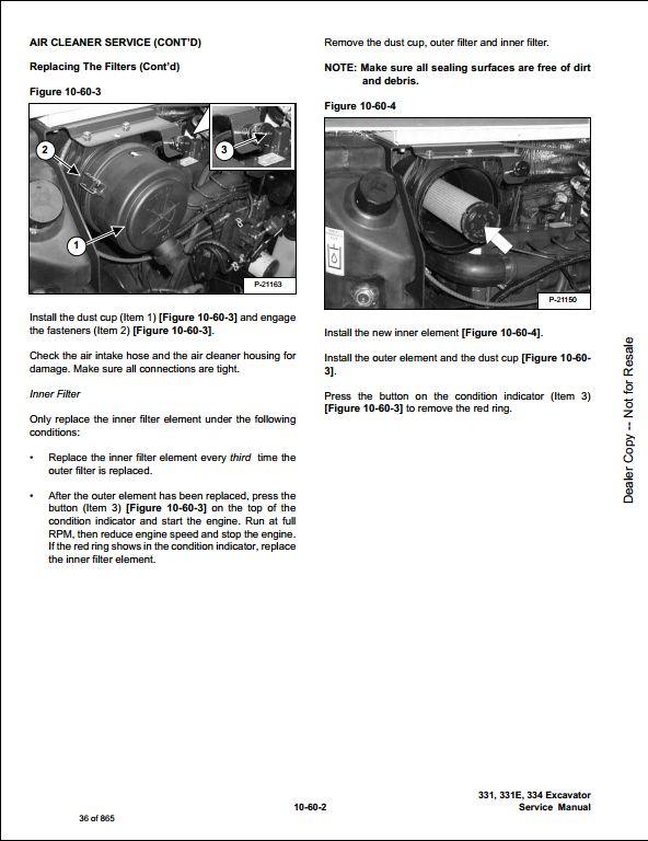 instant download bobcat 331 331e 334 mini excavator service repair workshop  manual 232511001-232611001  this manual content all service, repair,  maintenance