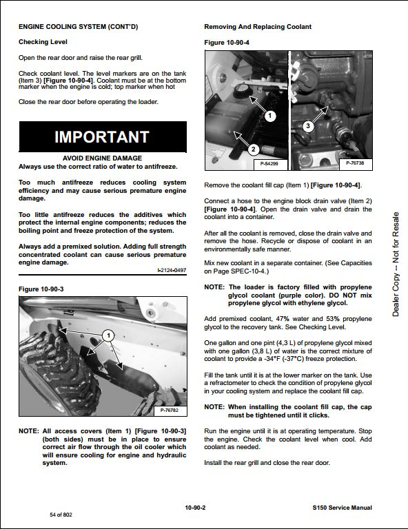 Bobcat S150 Manual