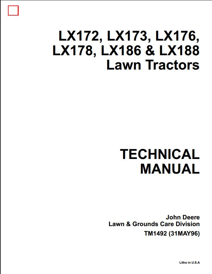 JohnDeere1 7 deere lx176 manual 100 images deere lawn tractor parts catalog john deere lx172 wiring diagram at creativeand.co