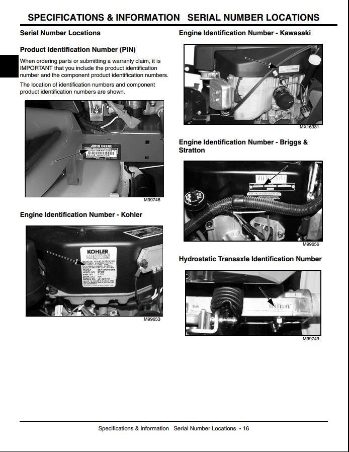 Gt235 repair manual
