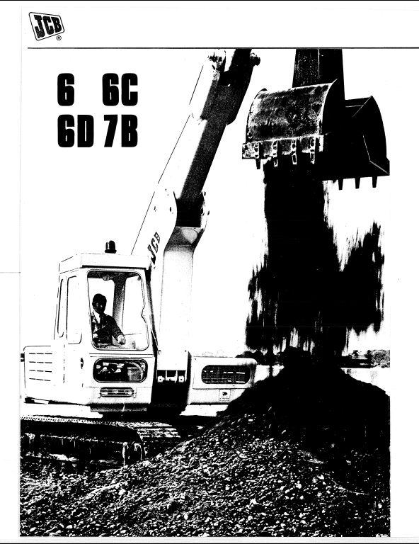 jcb 6 6c 6d 7b parts manual a repair manual store