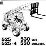 JCB 525,530 Loadall Parts Manual
