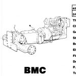 JCB 110 BLMC Engine Parts Manual