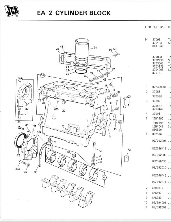Jcb Parts Manual