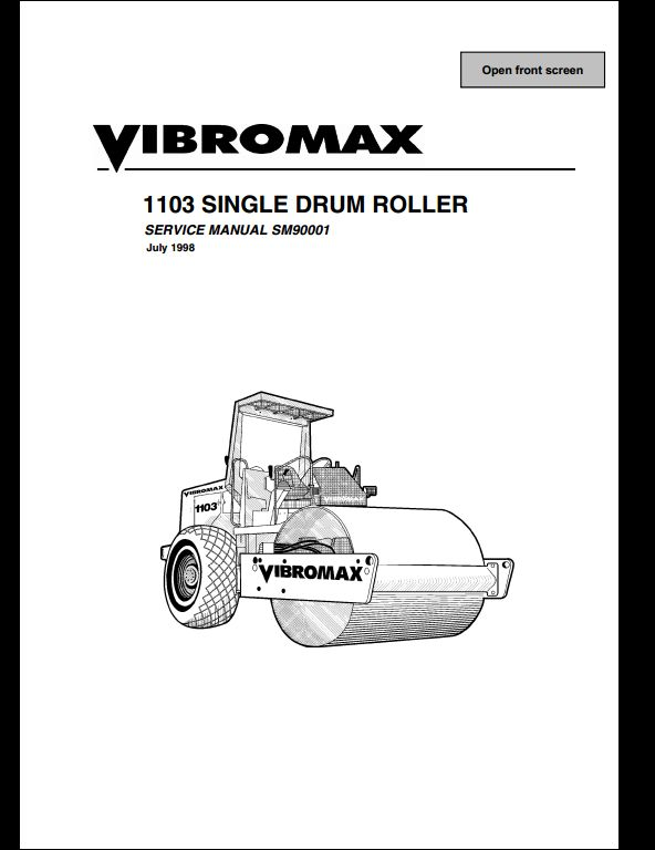 old vibromax a repair manual store. Black Bedroom Furniture Sets. Home Design Ideas