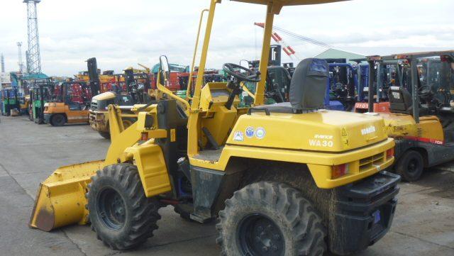 komatsu wheel loaders wa30
