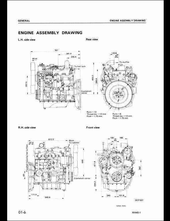 komatsu wheel loaders wa40