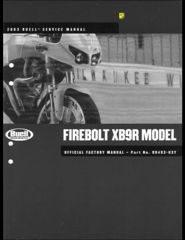 2003 buell firebolt xb9r service repair factory manual instant download