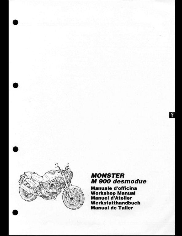 ducati monster 900 motorcycle service repair workshop