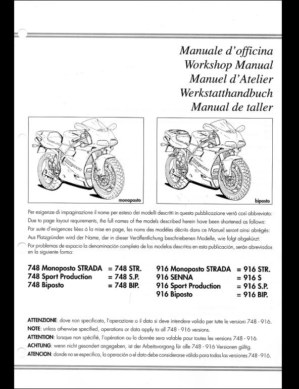 instant download ducati 748 916 motorcycle service repair workshop manual   this manual content all service, repair, maintenance, troubleshooting  procedures