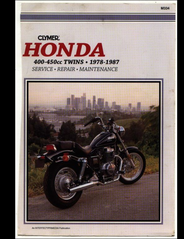 1978 1987 honda 400 450cc twins motorcycle service repair workshop rh arepairmanual com 1978 Honda CB400 Honda CBR1000RR