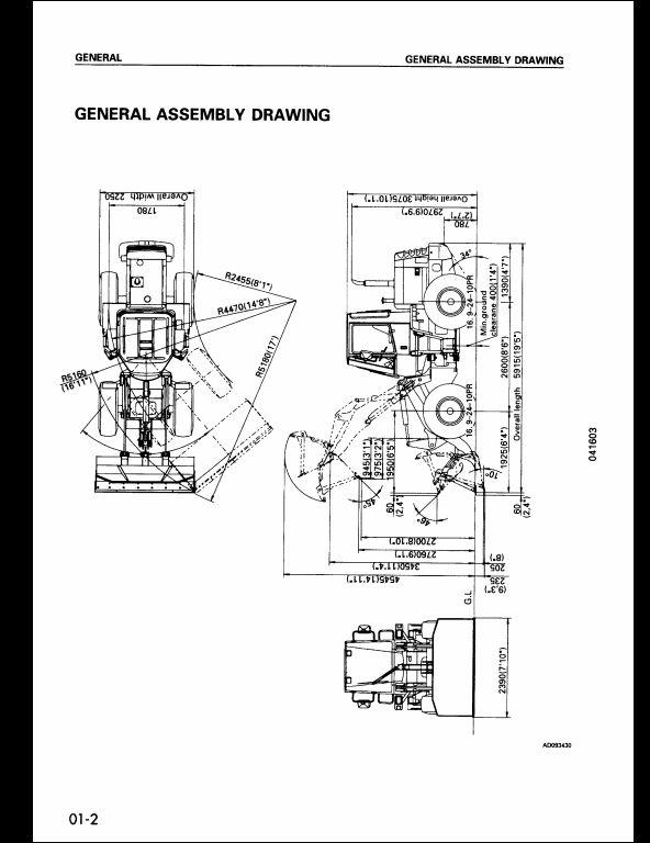 2000 komatsu wheel loaders wa120 3 service repair workshop manual rh arepairmanual com 200 Komatsu Wheel Loader Komatsu Wa150