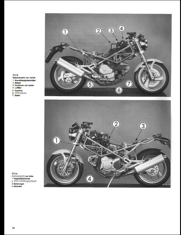 1993 Ducati Monster 600  750  900 Motorcycle Service Repair Workshop Manual