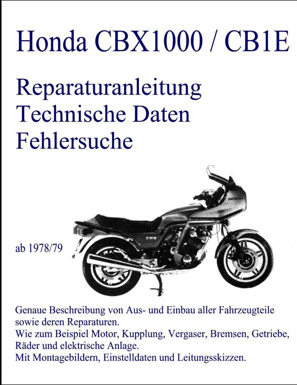 Honda Motorcycle | A Repair Manual Store - Part 2