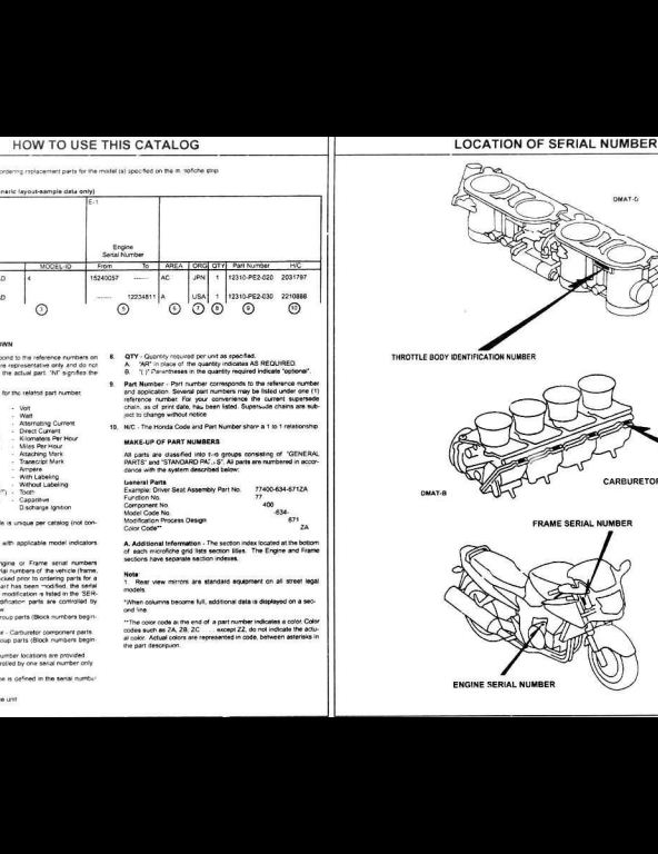 1997 2002 honda cbr1100xx motocycle parts manual a repair manual all major topics are covered step by step instruction diagrams illustration wiring schematic