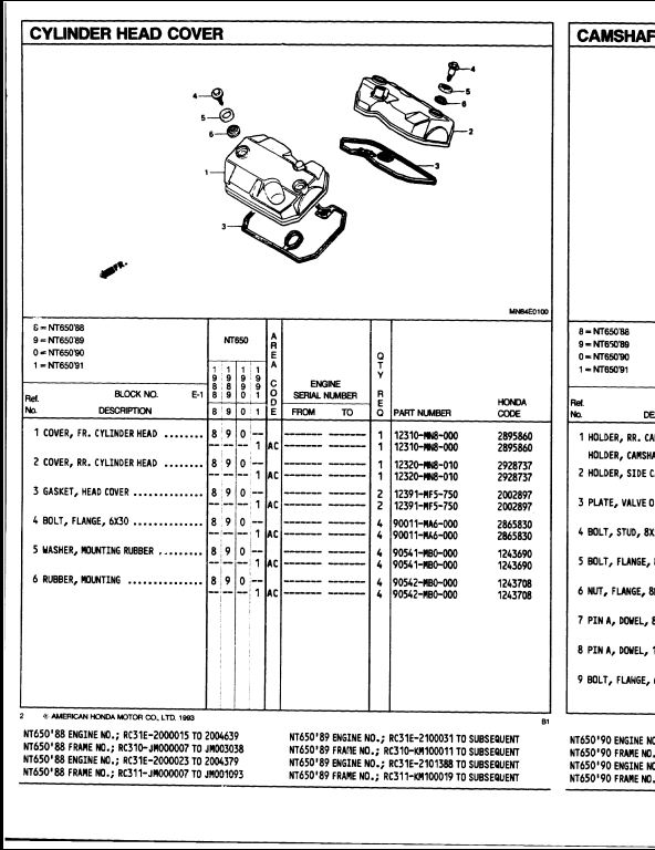 honda cmx 250 engine diagram