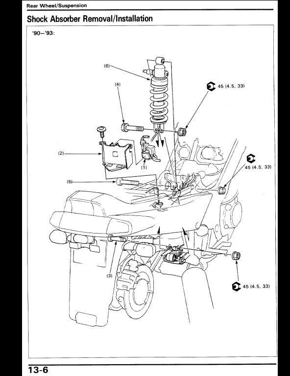 instant download 1990-1996 honda vfr750f motocycle service repair workshop  manual  this manual content all service, repair, maintenance,