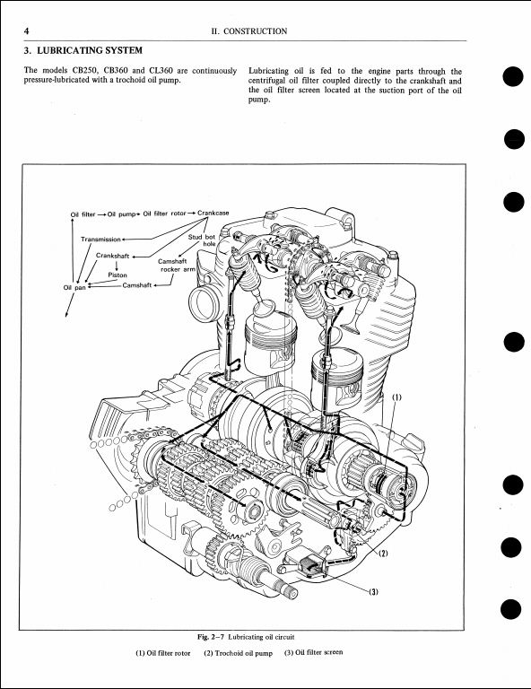 1976 honda cb250  360 cl360 cj250t cj360t motocycle service repair workshop manual