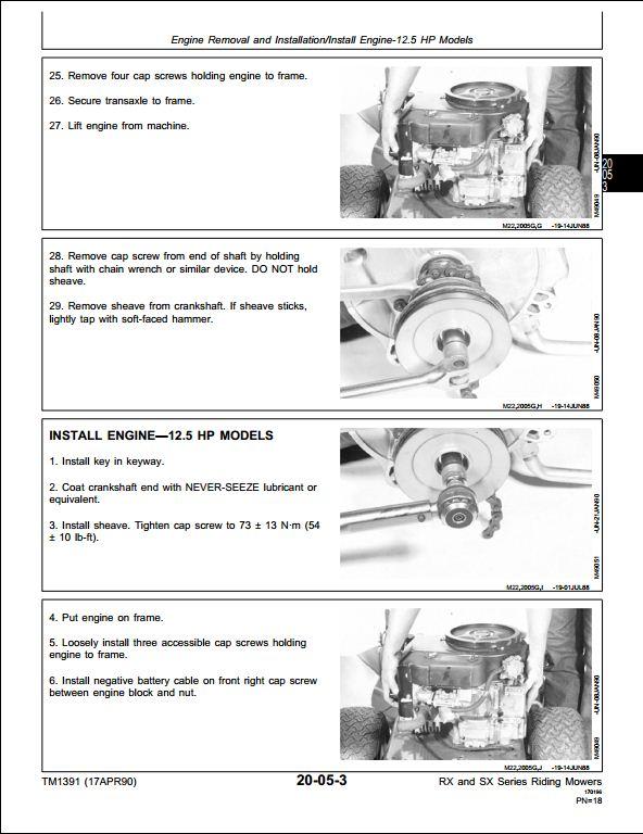 John Deere Sx75 Wiring Diagram : John deere a repair manual store