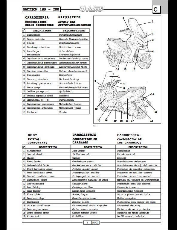 malaguti 180 200 motocycle service repair workshop manual a repair manual store