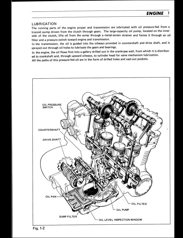 Suzuki Gs750 Motocycle Service Repair Workshop Manual