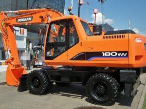 2003 Doosan Solar 180W-V Wheeled Excavator Service Repair Workshop Manual