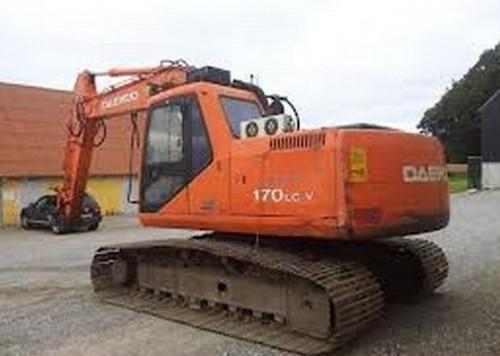 daewoo doosan dx420lc excavator service repair manual download