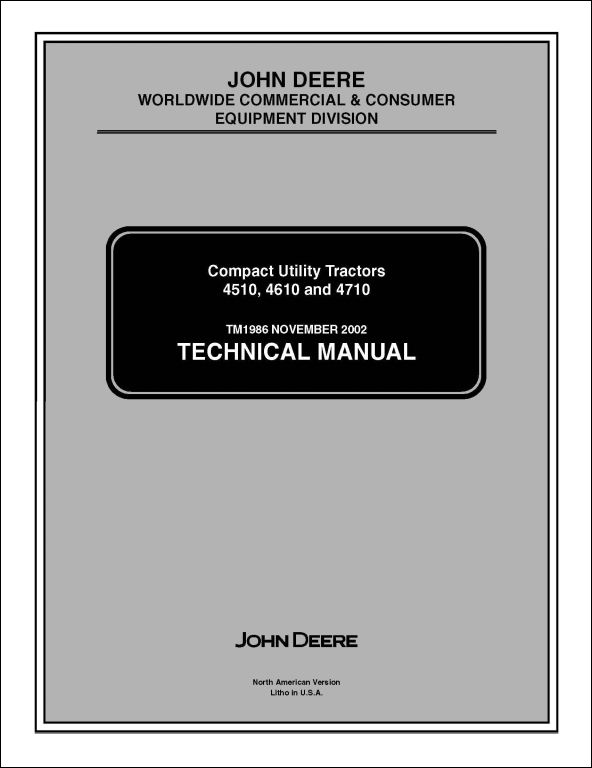 a repair manual store john deere 4610 parts manual John Deere 4610 Review