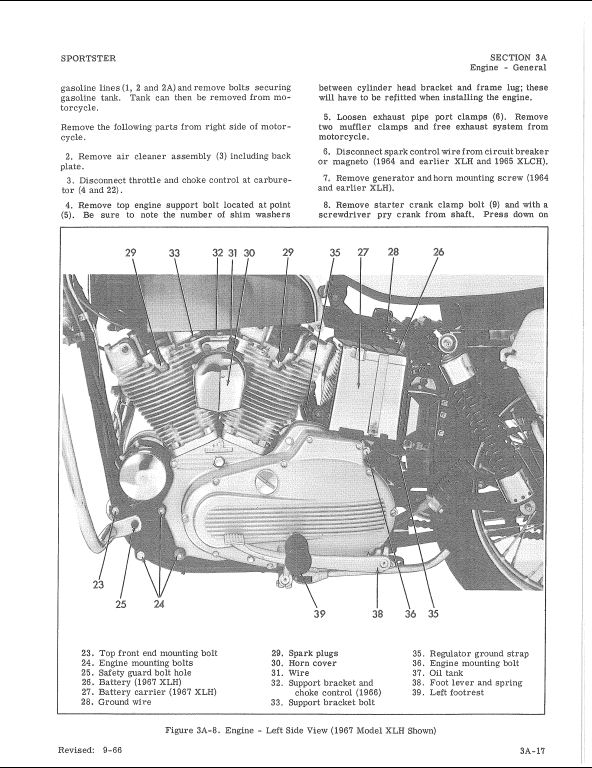 1959-1969 harley-davidson sportster motorcycle service ... 2000 harley davidson wiring diagram