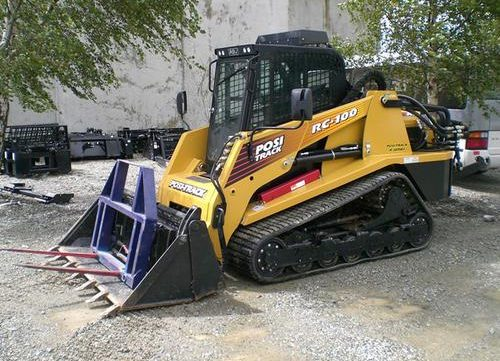 terex track loaders a repair manual store 2009 terex rc 100 rubber track loader workshop master parts manual