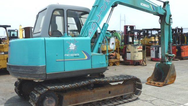 Kobelco Model Sk60v Hydraulic Excavator Service Repair