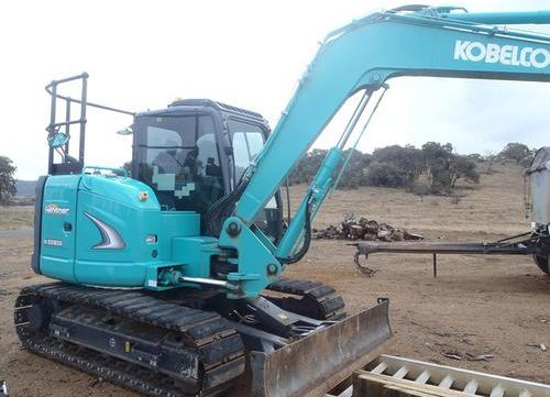 kobelco model sk80msr hydraulic excavator service repair workshop rh arepairmanual com New Holland Excavator Case Excavator