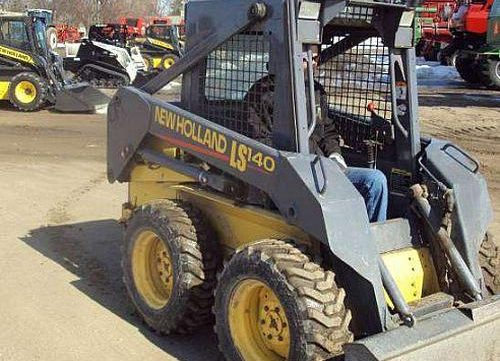 new holland skid steer a repair manual store rh arepairmanual com New Holland LS190 Skid Loader New Holland LS190 Skid Loader