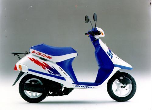 1994 Honda Sa50  Sa50p Elite 50 Lx  Sr  S Motocycle Service