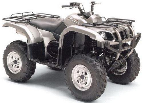 2002 yamaha yfm660f p motocycle service repair workshop for Yamaha grizzly 660 tracks