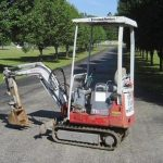Takeuchi TB007 Compact Excavator Service Repair Workshop Manual